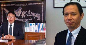 (Kiri) Atsushi Kurita (kanan) Naoya Takai Presiden Baru KTB