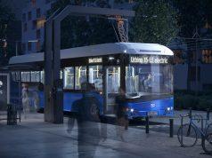 Bus listrik solaris
