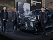 Mitsubishi Indonesia didepan Xpander Cross Rockford Fosgate Black Edition